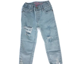 Girls Distressed Denim, Girls Distressed Jeans, Girls Skinny Jeans, Girls Distressed Denim Skinny Jeans, Girls Denim, Girl Jeans, Distressed