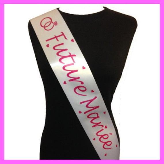 7e3ecca967a7 Scarf Miss Future bride bachelorette party   Etsy