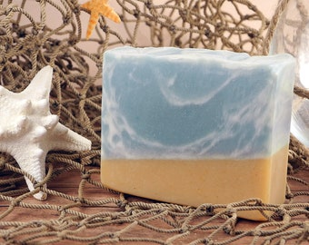 Day at the Beach Handmade Soap