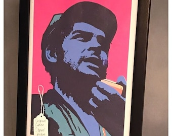 Original Framed Cuban OSPAAAL Political Poster