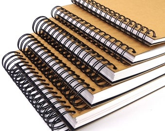 A3 A4 A5 x200, x160, x80, x60, x40 White Pages Sketchbook Scrapbook 180GSM Blank