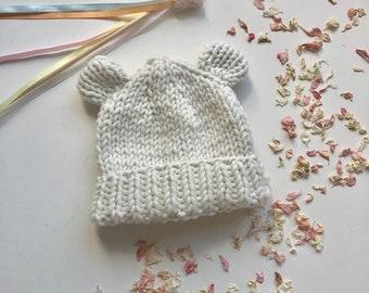 486c2923400 Baby Bear Wool Hat