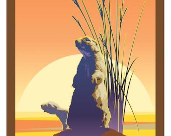 National Natural Landmarks Poster: Prairies