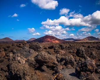 Landscape Photography Print - Timanfaya National Park