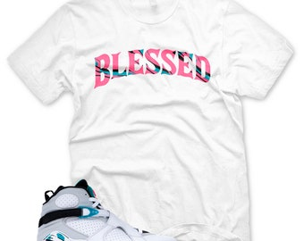 b8f25624b90b20 New BW BLESSED T Shirt for Jordan 8 Turbo Green South Beach Miami Vice