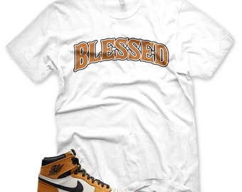 3536b67aab4 White BW BLESSED T Shirt Jordan 1 Rookie of the Year ROTY