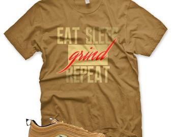 New Og Blessed T Shirt For Nike Air Max 97 Metallic Gold Etsy