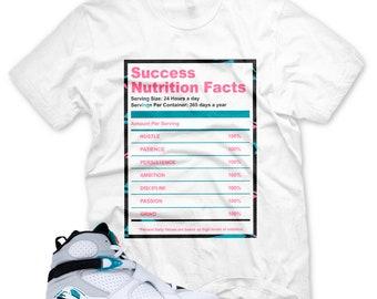 bfa86f67ab3939 New SUCCESS FACTS T Shirt for Jordan 8 Turbo Green South Beach Miami Vice