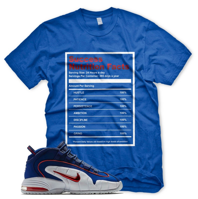 low priced 0f867 d9d38 New SUCCESS FACTS T Shirt for Nike Air Max Lil Penny 1 Deep   Etsy