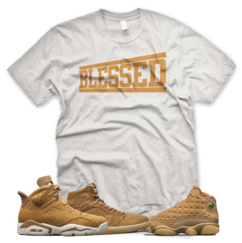 bd43e001f4f BLESSED T Shirt inspired by Jordan Golden Harvest OG Wheat | Etsy