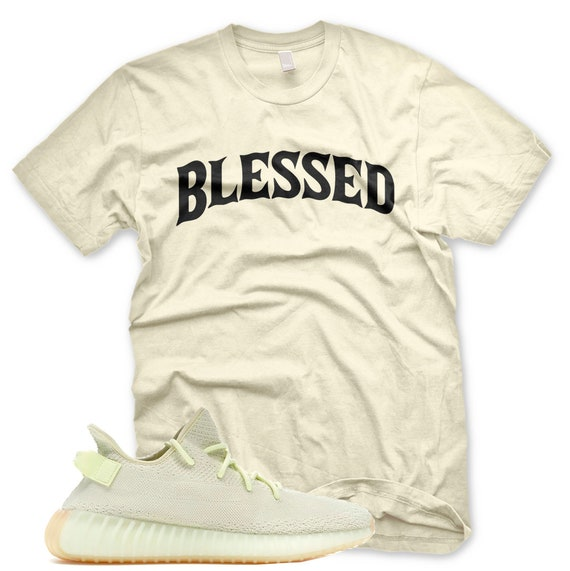 261f3dd8236d4 New BW BLESSED T Shirt for Adidas Yeezy 350 v2 Butter Gum