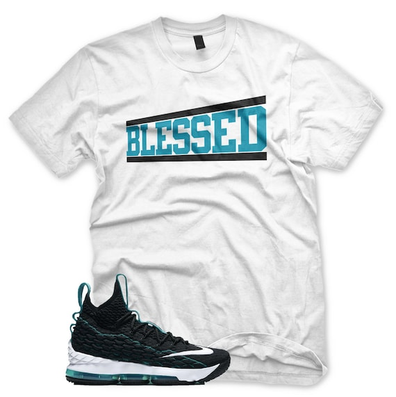 b9ee003ae5b New White BLESSED T Shirt for Lebron 15 Griffey AIR MAX