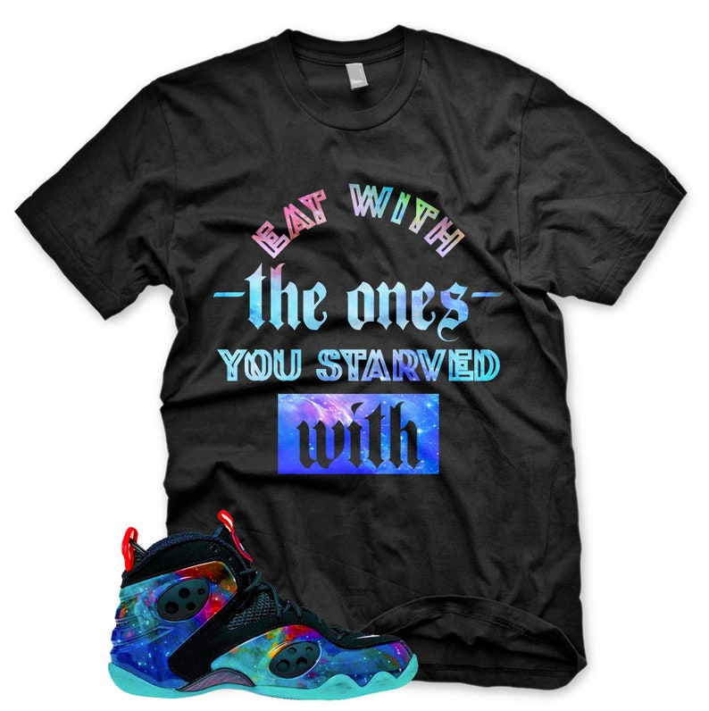 New STARVED T Shirt for Nike Zoom Rookie Galaxy Foamposite  184b094073f8