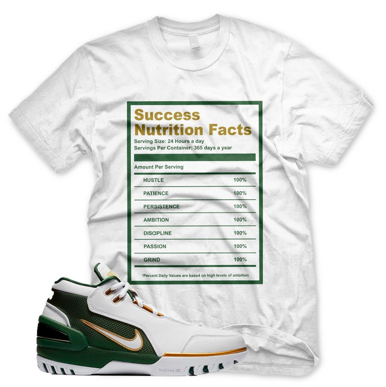 473108d418d2 New Success Facts T Shirt for Lebron ZOOM GENERATION SVSM 15