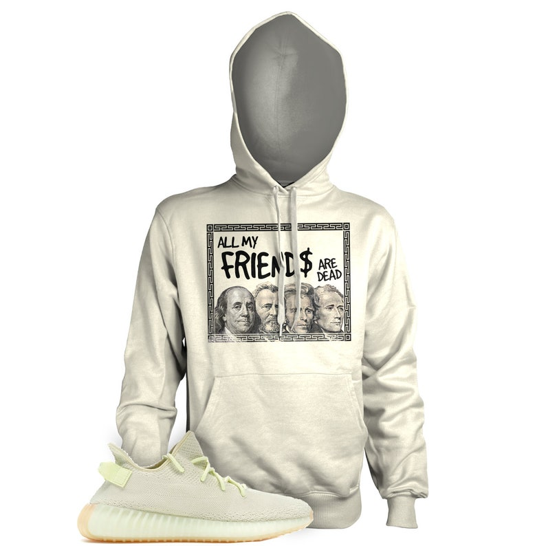 separation shoes ff61b 76281 New SMOOTH LIKE BUTTER Hoodie T Shirt for Adidas Yeezy 350 v2 Butter Gum