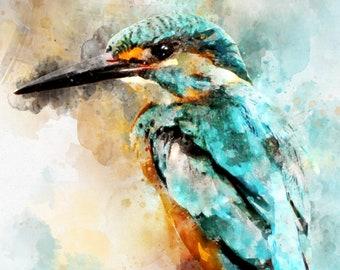 Kingfisher Print - A3