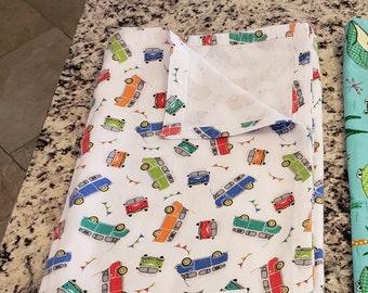 Handmade Flannel Receiving Baby Blankets/Activity Pad (40in x 45in)
