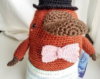 Crochet Amigurumi Platypus