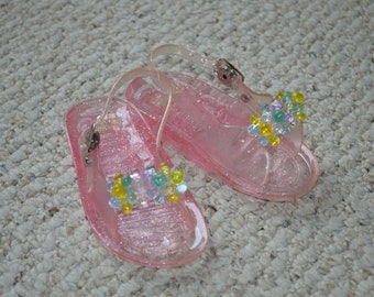 4fada719f056 Toddler Jelly Sandals---Pink Jellies---Size 3 4---New   Never Worn---From  The 1990 s