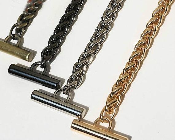 100 cm 9 mm-chaîne en métal de remplacement Sangle Ceinture Pour Femmes Sac a bandouliere