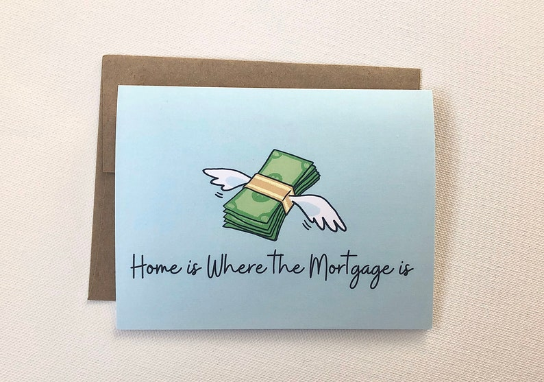 Funny New House Card