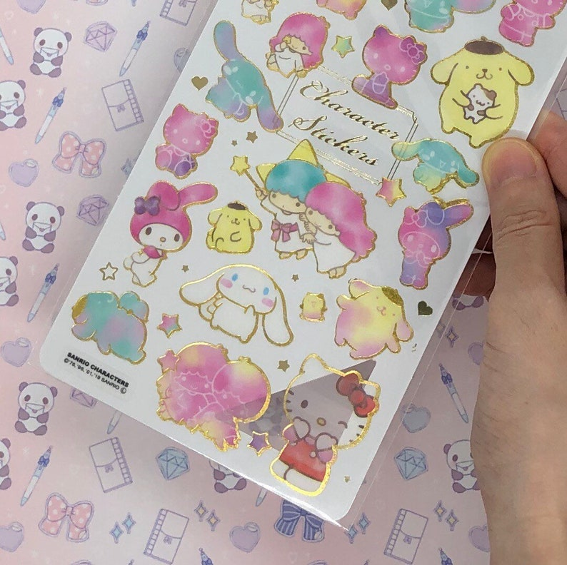 character stickers sanrio characters