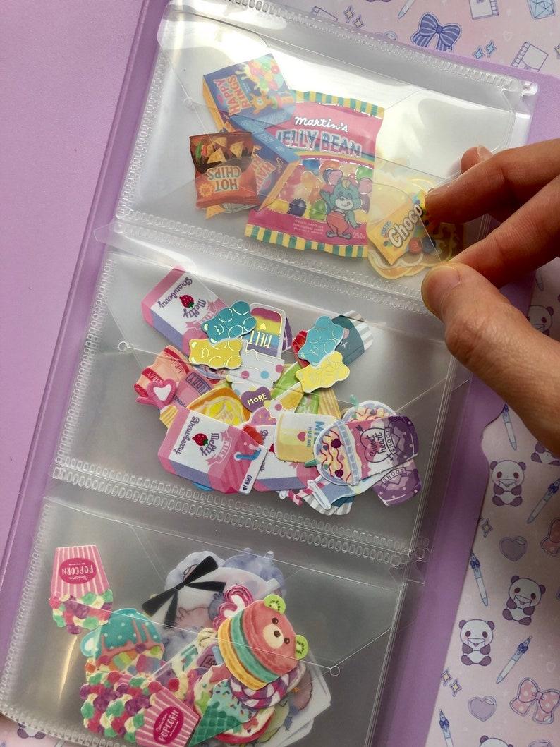 sticker flakes folder