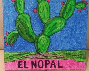 Mexican folk art painting