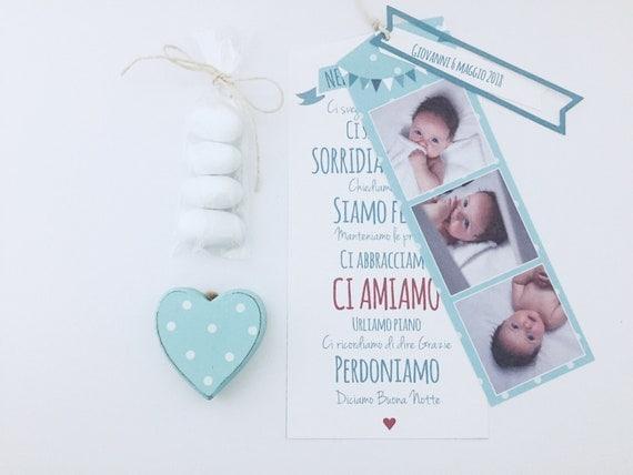 Cards Bomboniera Battesimo Nella Nostra Casa Frasi Etsy