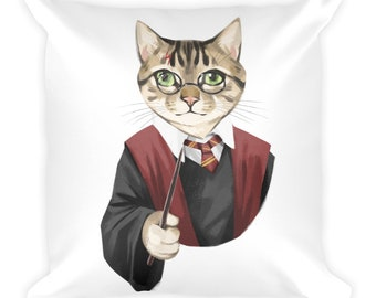 Catty Potter Cushion