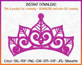 tiara printable etsy