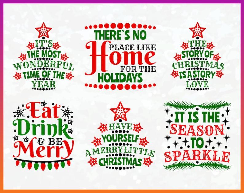 Christmas Sayings.Christmas Sayings Svg Merry Christmas Svg Image Bundle Download Svg Pdf Jpg Png Cdr Cut Files Buddy Hat Legs Diy Card Tshirts Mugs Gift Tag