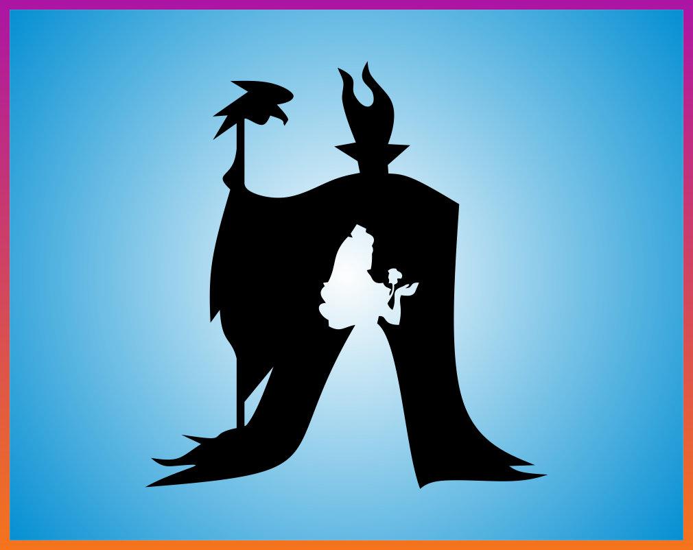 Disney Villain Silhouette Svg Firstbeadabc Info