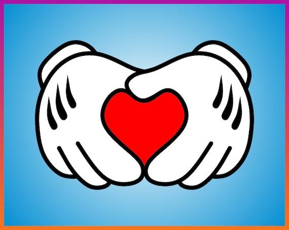 1006+ Mickey Love Svg Amazing SVG File