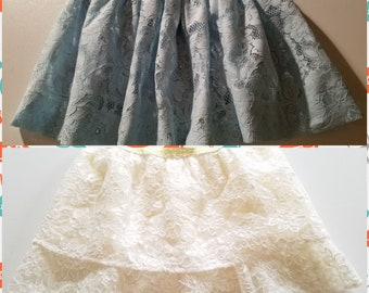 Little Girl's skirts for spring and summer