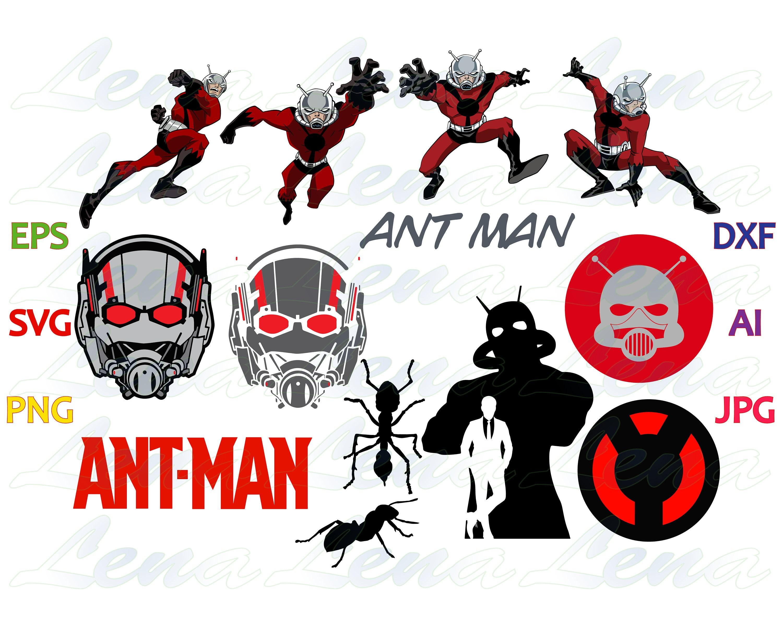 Ant Man The wasp SVG Ant Man logo Ant Man Helmet Mask Shirt   Etsy