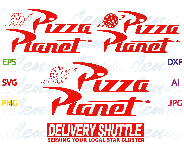 Toy Story pizza planet SVG Toy Story logo Pizza Planet Shirt | Etsy