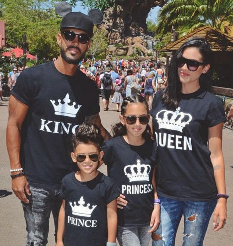 512f707ac6 King Queen Prince Princess Shirts Disney Family Shirts   Etsy