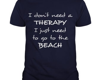 I Just Need a Beach T-shirt | Magicful Home Beach&Ocean | Men's and Women's Style | Various Colours | Supports Ocean Charity