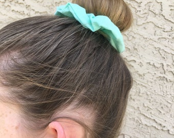 Sea-foam Green Scrunchie