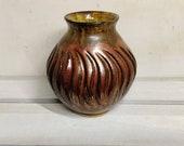 Copper vase, copper, plant pot, handmade ceramic vase