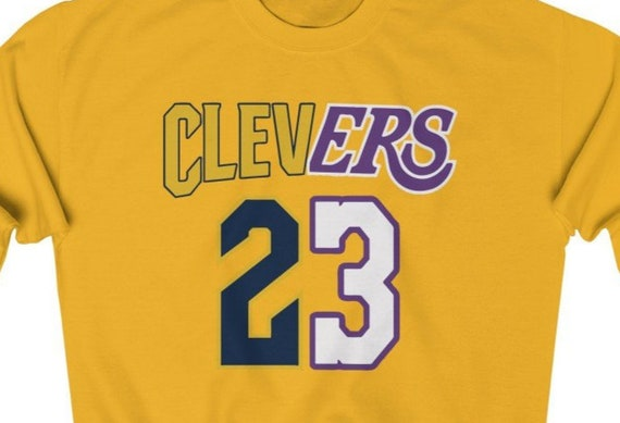 Clevers Lebron James Lakers Cleveland 23 King James Unisex  4fd122955