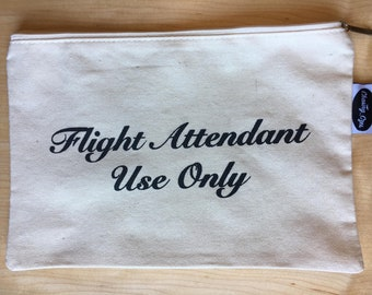 Flight Attendant Use Only - Utility Bag