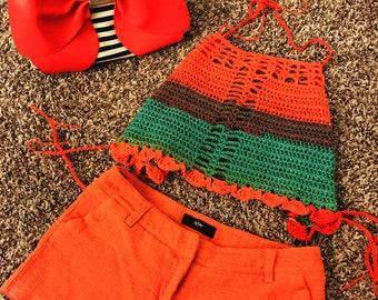 Crochet Halter Top-Wizard