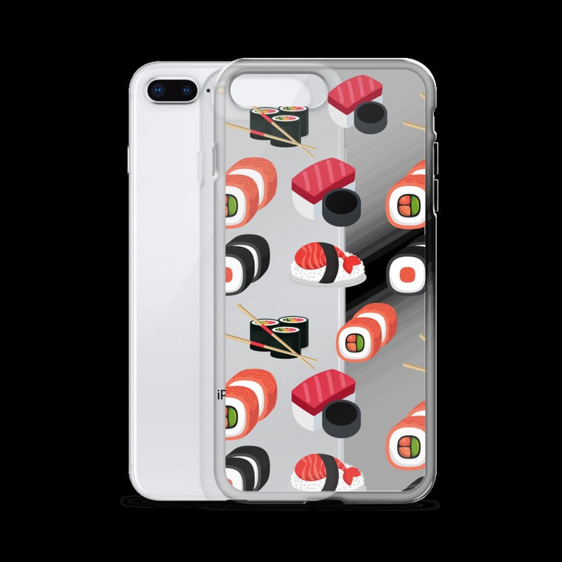 a831b85381 Sushi Phone Case iPhone xs max case xr Funny iPhone Cases X 8 | Etsy