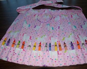 Handmade Child's Artist Apron