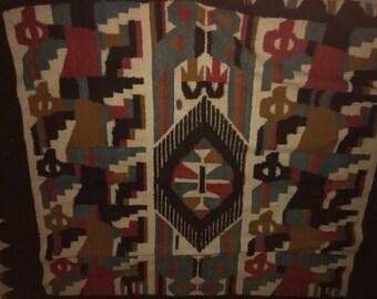 Vintage Alpaca Blanket