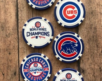 Chicago Cubs Tokens Golf Ball Markers Baseball