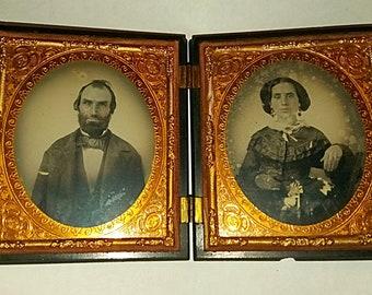 Authentic Civil War Era Framed Photos
