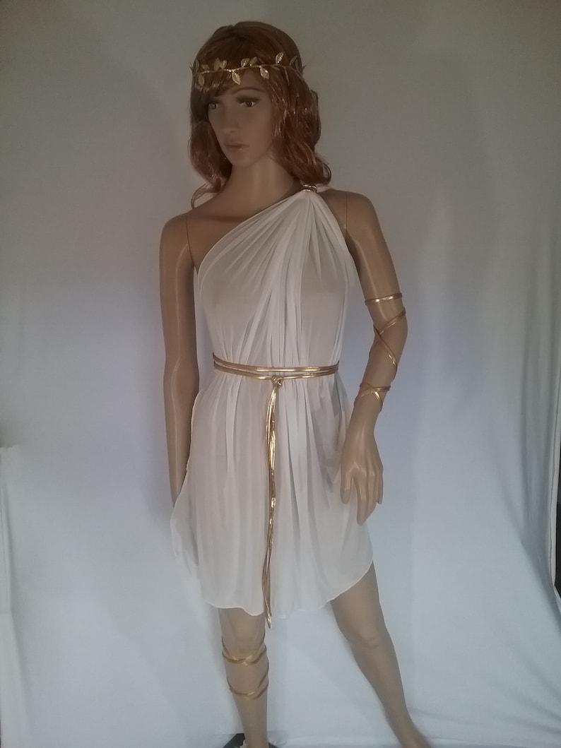 a1c053d44fce Grecian Toga Roman Egytian Tunic Aphrodite Gown Venus dress | Etsy